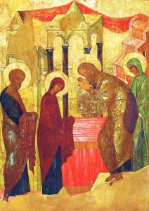 Presentation of our Lord - Rublev