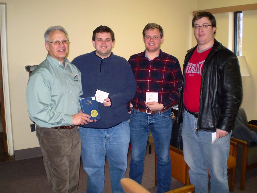 (l to r) Stephen Klinck, Andrew Cottrill, Paul Schulz, Shaun Grohn (absent: Christian MacLeod)