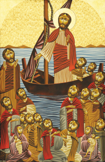 Icon_Christ_preaching_from_boat_210px