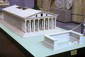 Temple of Artemis model