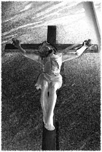 Seminary crucifix;Seminary crucifix