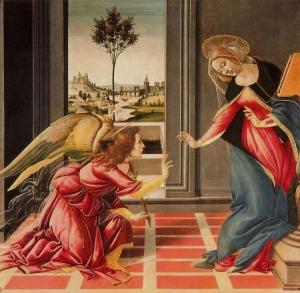 Annunciation (Botticelli)