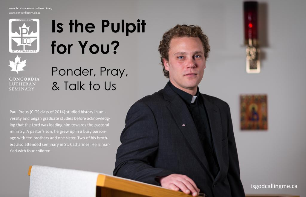 Is the Pulpit for You?