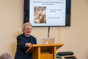 Eileen Schuller (McMaster University): Dead Sea Scrolls Convocation