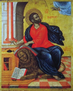 St Mark the Evangelist - Emmanuel Tzanes