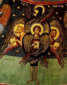 Tetramorph meteora (Seraphim, Gospels)