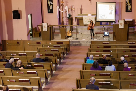 The Amber and Jade Tour, 22 April 2015, Grace Lutheran Church, St. Catharines