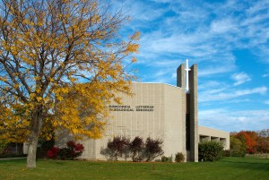 Concordia Lutheran Theological Seminary, St. Catharines, autumn colours