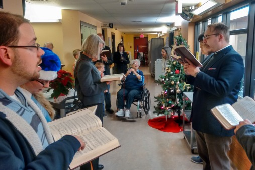 Christmas Carolling at Shaver Hospital