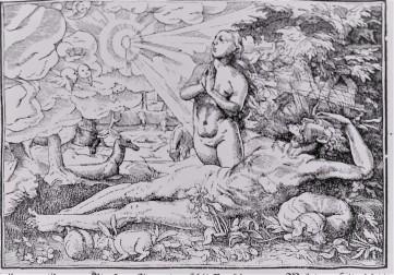 Adam and Eve woodcut, Josephus Flavius, DS 116 .J75 1574