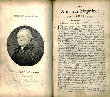 The Arminian Magazine: Consisting of Extracts and Original Treatises on Universal Redemption, January - December 1797, Vol. 20, BX 6195 1797
