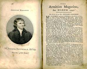 The Arminian Magazine: Consisting of Extracts and Original Treatises on Universal Redemption, January - December 1797, Vol. 20 BX 6195 1797