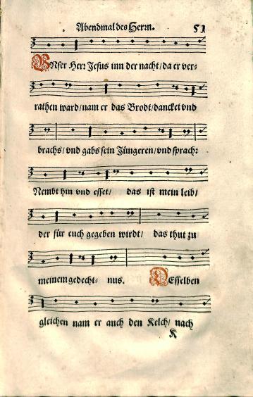 Andreas Osiander, Kirchenordnung, in meiner gnedigen Herrn des Marggrafen zu Brandenburg, BX 8067 .A2 1592, page 51