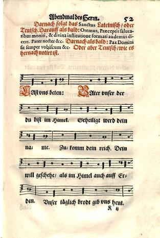 Andreas Osiander, Kirchenordnung, in meiner gnedigen Herrn des Marggrafen zu Brandenburg, BX 8067 .A2 1592, page 52