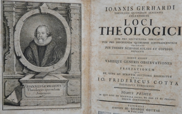 Johann Gerhard, Loci Theologici, BX 8064 .G3 1657