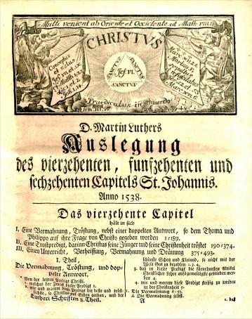 Johann Walch, Luther's Werke, BR 330 .E5 vol.8, 1742