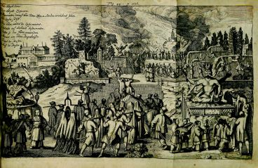 Caspar Calvor, Ritualis Ecclesiastici pars prior Origines, BX 8067 .C169, 1705, page 1016