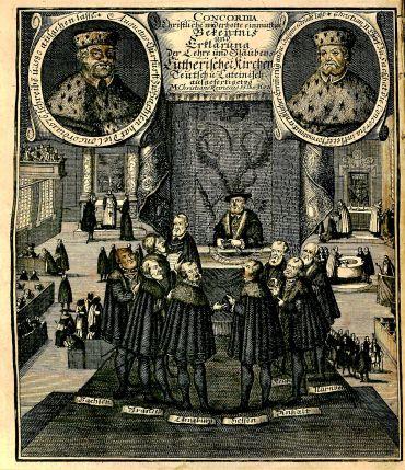 Frontispiece, Concordia Germanico-Latina, BX 8068 .A15 1708