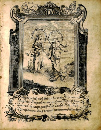 Johann Arndt, Sechs Bucher vom wahren Christenthum, BV 4834 A.77 1747, page 225