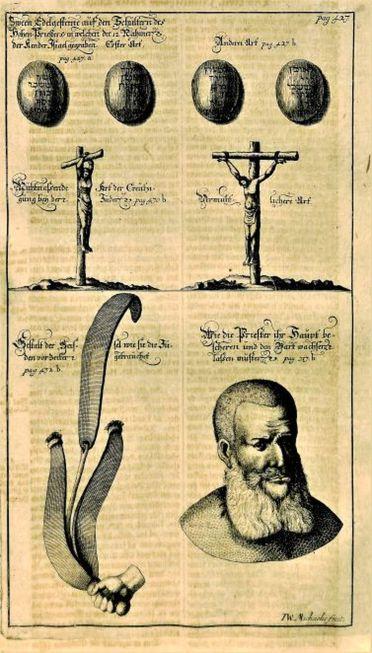 Engraving by J.W. Michaeilis, from Johannis Lund's Die alten jüdischen Heiligthümer, 1704
