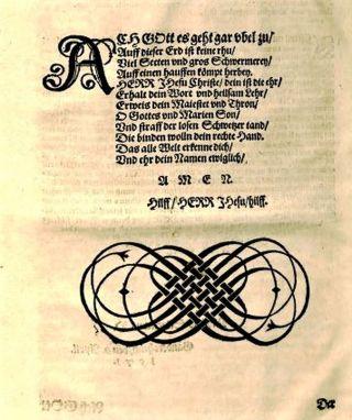 Type ornament from Nicholaus Selneccer's, Der gantze Psalter Dauids aussgelegt, 1571